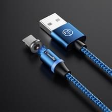 CaseMe Series 2 USB naar 8 Pin magnetische oplaadkabel  lengte: 1 m (donkerblauw)