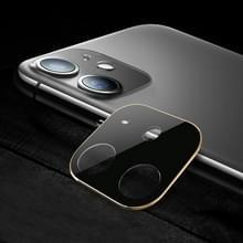 Titanium Alloy Camera Lens Protector Tempered Glass Film voor iPhone 11 (Goud)