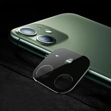 Titanium Alloy Camera Lens Protector Tempered Glass Film voor iPhone 11 (Zilver)