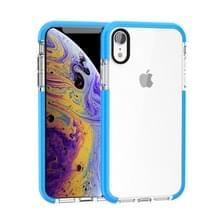 Zeer transparante Soft TPU Case voor iPhone X/XS (blauw)