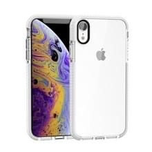 Zeer transparante Soft TPU Case voor iPhone X/XS (wit)
