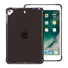 Zeer transparante TPU volledige Thicken hoeken schokbestendig beschermende case voor iPad Mini 5/4/3/2/1 (zwart)