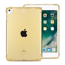 Zeer transparante TPU volledige Thicken hoeken schokbestendig beschermende case voor iPad Mini 5/4/3/2/1 (goud)