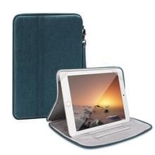Universele waterdichte schokbestendige tablet beschermhoes draagtas met houder voor iPad 10.2 2019 of below inch tablet (groen)