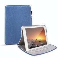 Universele waterdichte schokbestendige tablet beschermhoes draagtas met houder voor iPad 10.2 2019 of below inch tablet (Blauw)