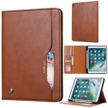 Knead huidtextuur horizontaal Flip lederen case voor iPad Air 2019 10 5 inch  met foto frame & houder & kaartsleuven & portemonnee & pen sleuf (bruin)