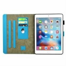 iPad Pro 10.5 inch horizontaal TIME TO PARTY patroon PU leren Flip Hoesje met houder  slaap / ontwaak functie en opbergruimte voor pinpassen & pen