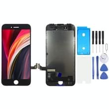 LCD-scherm en Digitizer Volledige assemblage voor iPhone SE 2020(Zwart)