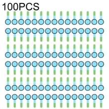 100 stuks voorcamera (klein) spons schuim segment Pads voor iPhone X