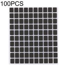 100 stuks Display scherm zwart Stickers voor iPhone X