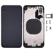 Terug huisvesting Cover voor iPhone X(Black)