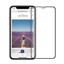 MOFI 9H oppervlakte hardheid 2.5D Arc rand explosieveilige vol scherm Tempered glas Film voor iPhone XS Max (zwart)