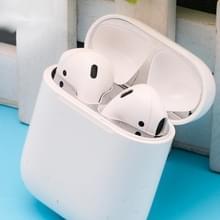 Metalen stofdichte sticker voor Apple AirPods 2 (zilver)