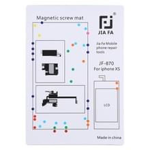 JIAFA JF-870 magnetische pad schroef Board voor iPhone XS