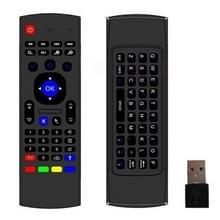 MX3-M Air Mouse draadloos 2.4G afstandsbediening toetsenbord met microfoon voor Android TV Box / Mini PC