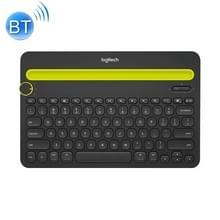 Logitech K480 multi-device Bluetooth 3 0 draadloos Bluetooth-toetsenbord met standaard (zwart)
