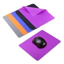 Zachte siliconen Gaming Muismat  Afmetingen: 21.5 x 16.5cm  willekeurige kleur levering