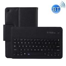 SA510 afneembaar Bluetooth-toetsenbord + Litchi textuur PU lederen beschermhoes met houder voor Galaxy tab A 10 1 (2019) T510/T515 (zwart)