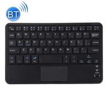 Draadloos Bluetooth-toetsenbord met aanraakpaneel  compatibel met alle Android & Windows 10 inch tablets met Bluetooth-functies (zwart)