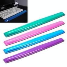 MONTIAN transparante Silicone Bracer hart-vormige toetsenbord pols Supporter  willekeurige kleur levering