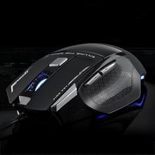 AULA SoulKiller II Serie bedrade optische 3500 DPI 7D USB Gaming Muis met verlichting (zwart)
