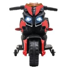[Het Pakhuis van de V.S.] LEADZM LZ-919X 6V 4.5AH Small Ride-on Elektrische Motorfiets Kinderen Speelgoed met LED Koplampen & Hoorn & Auto Simulatie Geluid & Muziek (Rood)
