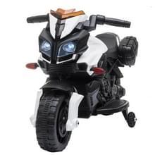 [Het Pakhuis van de V.S.] LEADZM LZ-919X 6V 4.5AH Small Ride-on Elektrische Motorfiets Kinderen Speelgoed met LED Koplampen & Hoorn & Auto Simulatie Geluid & Muziek (Wit)