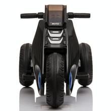 [Amerikaans pakhuis] Kinderen Dual-drive Elektrische Driewielige Motorfiets (Zwart)