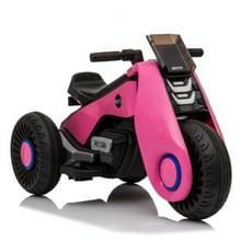 [Amerikaans pakhuis] Kinderen Dual-drive Elektrische Driewielige Motorfiets (Roze)