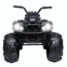 [Amerikaans pakhuis] Kids Children Dual-drive Elektrische Auto ATV Quad Toy  Upgraded Version (Zwart)