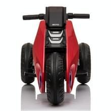 [Amerikaans pakhuis] Kinderen Dual-drive Elektrische Driewielige Motorfiets (Rood)