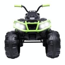 [Amerikaans pakhuis] Kids Children Double Drive Elektrische Auto ATV Quad Toy  Upgraded Version (Zwart Groen)