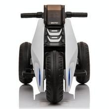 [Amerikaans pakhuis] Kinderen Dual-drive Elektrische Driewielige Motorfiets (Wit)