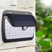 Intelligente PIR bewegings Sensor wit licht LED zonne-licht  42 LEDs SMD 2835 veiligheid energiebesparende Lamp met 1.3W zonnepaneel