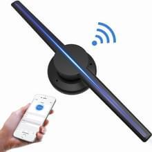42cm diameter 3D Holografische display  WiFi app controle  640 x 640 pixels resolutie 320 LEDs Billboard  ondersteuning micro SD-kaart