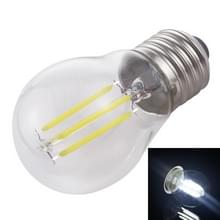 G45 E27 4W 4 LEDs 450 LM 6500K retro dimmen LED filament gloeilamp energiebesparend licht  AC 220V (wit licht)