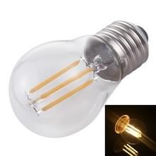 G45 E27 4W 4 LEDs 450 LM 3000K retro dimmen LED filament gloeilamp energiebesparend licht  AC 220V (warm wit)