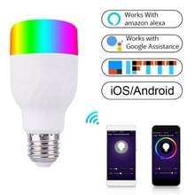 E27 RGB dimmen WIFI Smart LED gloeilamp (kleurrijk licht)