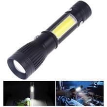 W545 Portable USB opladen LED elektrische zaklamp zaklamp