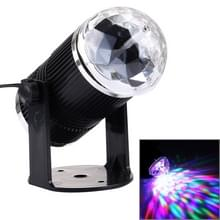 3W Mini roterende Magic Ball fase LED licht  VS / EU Plug