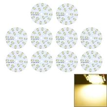 10 stuks 9W SMD 5730 Warm witte aluminium basis licht paneel  18 LEDs 810 LM 3000-6500K  Diameter: 63mm (Warm wit)