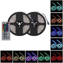 12V SMD 5050 30 LEDs dubbele cirkel waterdichte veiligheid RGB LED strip combo met afstandsbediening