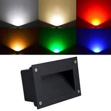 6W groen licht LED ingesloten begraven lamp IP65 waterdicht rechthoekige landschap platform trap stap lamp
