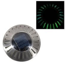 LED roestvrijstaal Solar Powered embedded Ground lamp IP65 waterdicht tuin gazon lamp (kleurrijke licht)