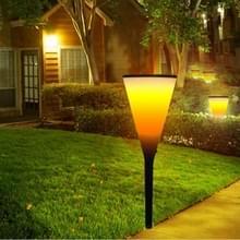JJ-9605-5 wijn Cup vorm zonne-energie Torch licht  96 LED SMD 2835 2800 K milieu vriendelijke LED Light Lamp met 5.5V / 1.2W zonnepaneel