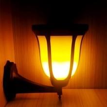 JJ-9605-2 zonne-energie Torch licht  96 LED SMD 3528 2800 K milieuvriendelijk zaklamp LED Wall Lamp met 5.5V / 2W zonnepaneel
