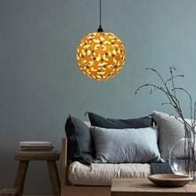 LAMPZ00E A - 03M E14 / E27 beknopte stijl bal vormige houten DIY Lamp schaduw  niet inbegrepen gloeilamp  kabel en Lamp Base (hout kleur)