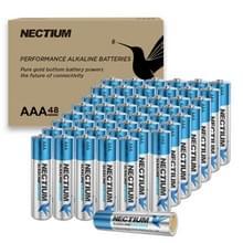 [Amerikaans pakhuis] NECTIUM 48 in 1 Superieure prestaties AAA Alkalische Pure-Gold-Bottom IoT-batterijen voor IoT-apparaten en Smart Lock