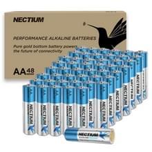 [Amerikaans pakhuis] NECTIUM 48 in 1 Superieure prestaties AA Alkalische Pure-Gold-Bottom IoT-batterijen voor IoT-apparaten en Smart Lock