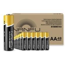 [Amerikaans pakhuis] NANFU 48 in 1 1 5V Nanfu Alkalische AA Batterij voor klokken afstandsbedieningen Games Controllers Speelgoed elektronische apparaten